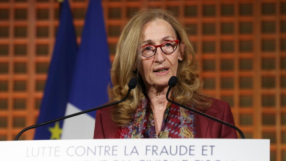 La ministre de la justice, Nicole Belloubet le 17 fevrier dernier à Paris