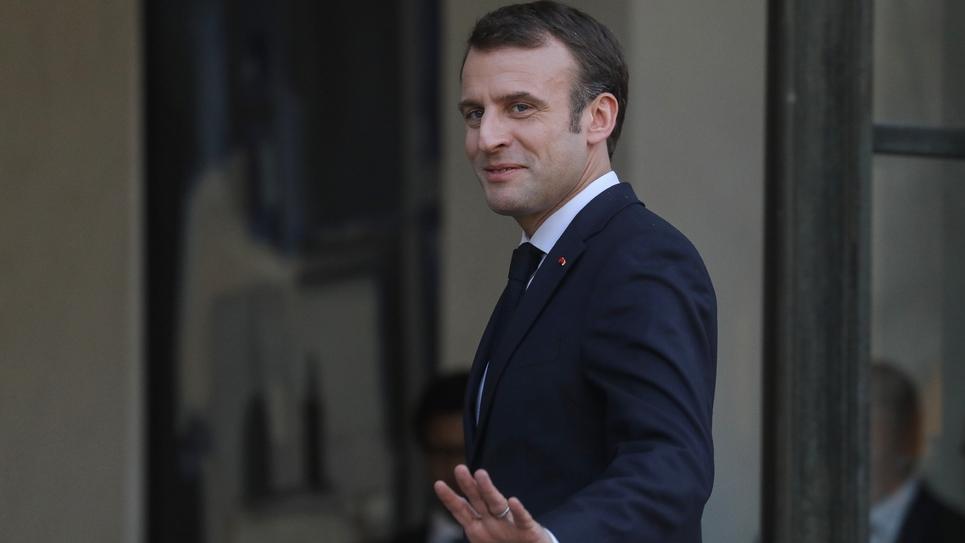 Le président Emmanuel Macron, le 27 février 2019 à l'Elysée, à Paris