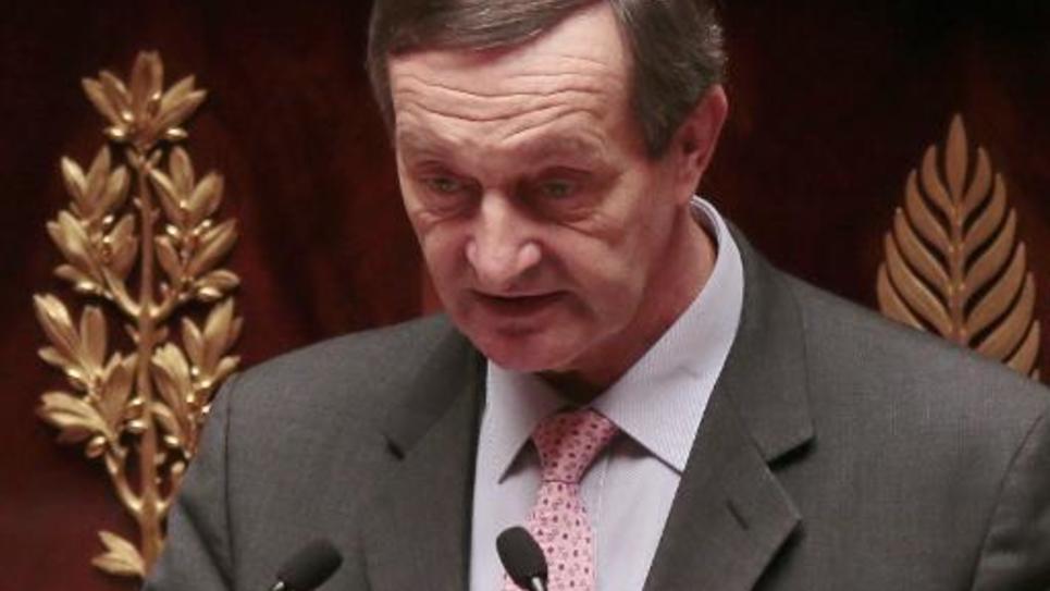 Gérard Bapt (PS), le 23 octobre 2012 à l'Assemblée nationale à Paris