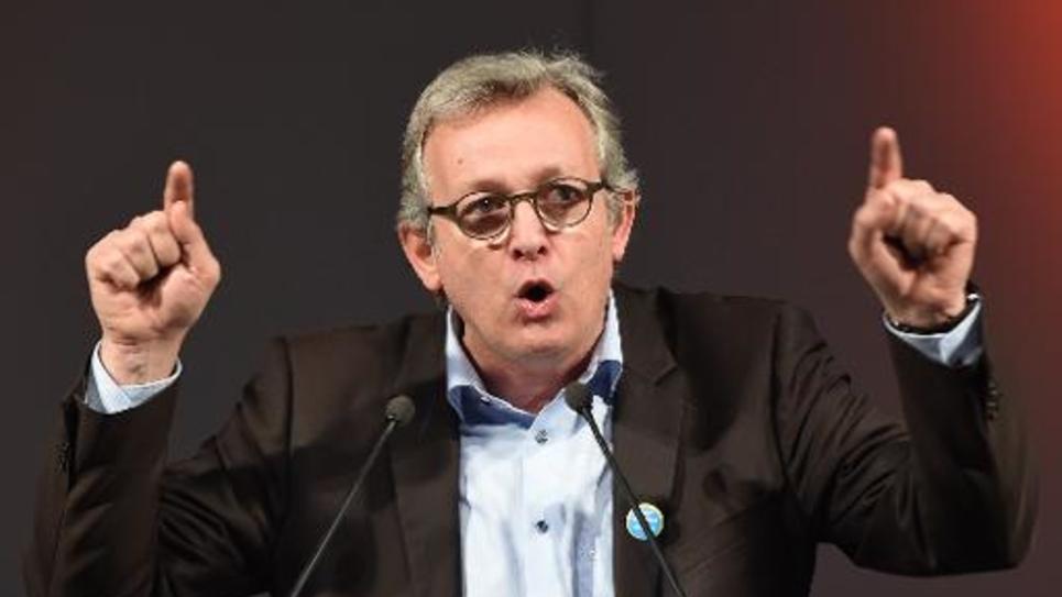 Pierre Laurent, secrétaire national du PCF, le 26 janvier 2015 à Marseille