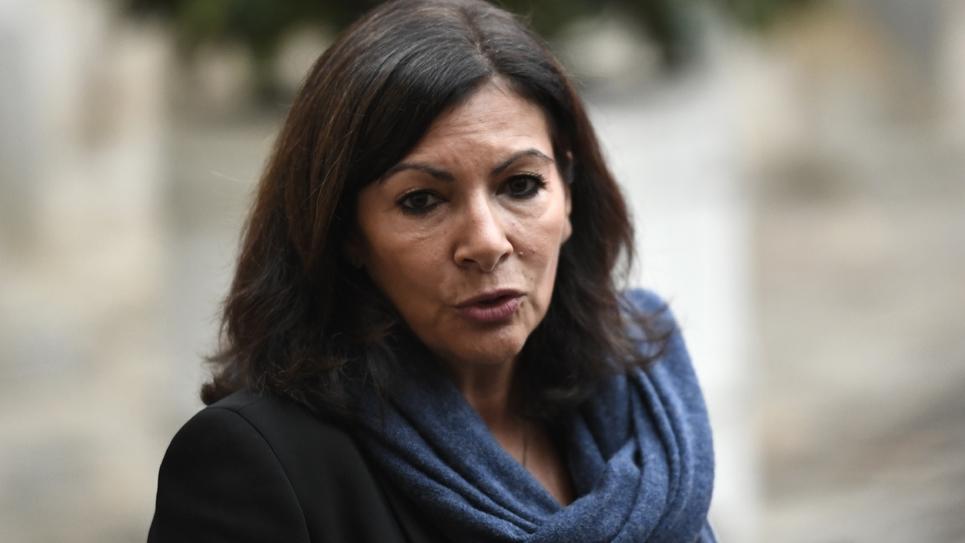 La maire de Paris, Anne Hidalgo, à l'hôtel Matignon le 3 décembre 2018