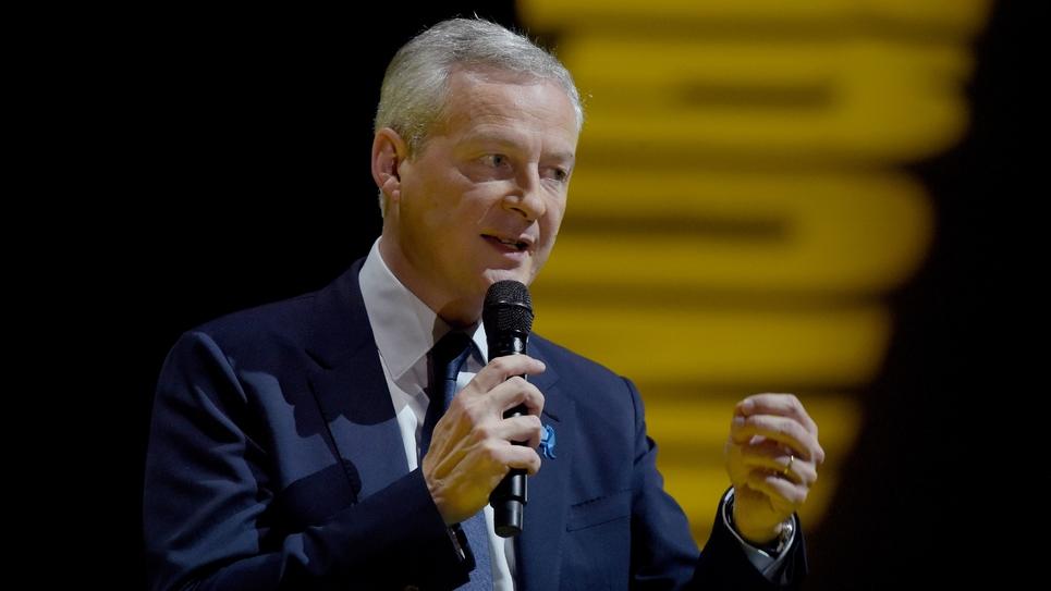Le ministre français de l'Economie et des Finances Bruno Le Maire à Paris le 11 octobre 2018