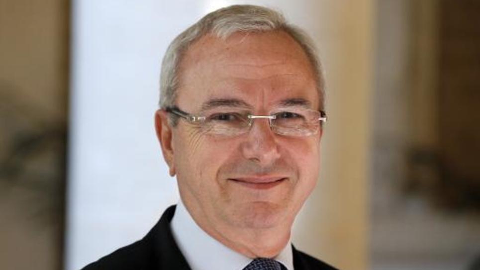 Le député UMP Jean Leonetti le 24 avril 2013 à l'Asemblée nationale à Paris
