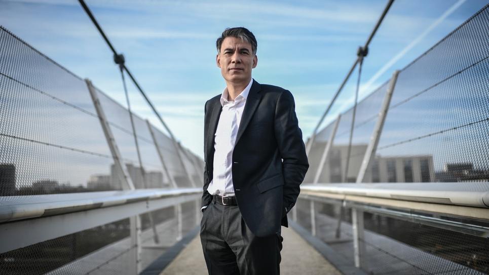 Olivier Faure le 8 janvier 2019 à Ivry-sur-Seine, est de Paris.
