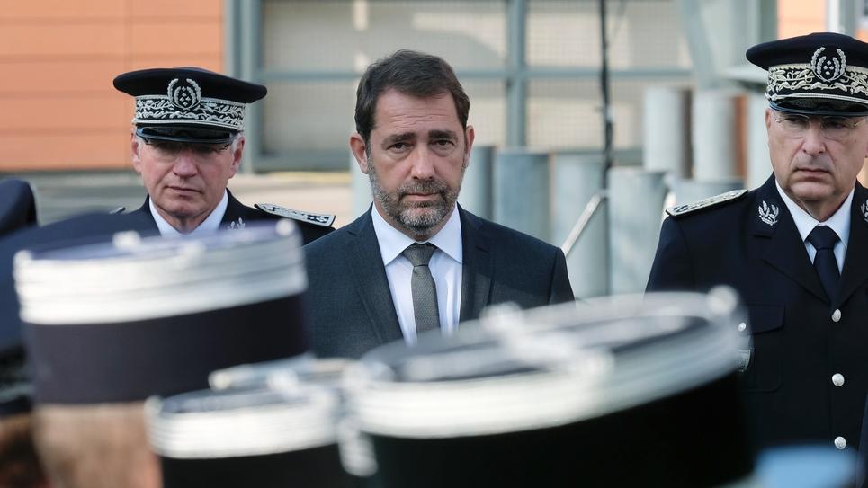 Le ministre de l'intérieur Christophe Castaner à Albi, le 19 octobre 2018
