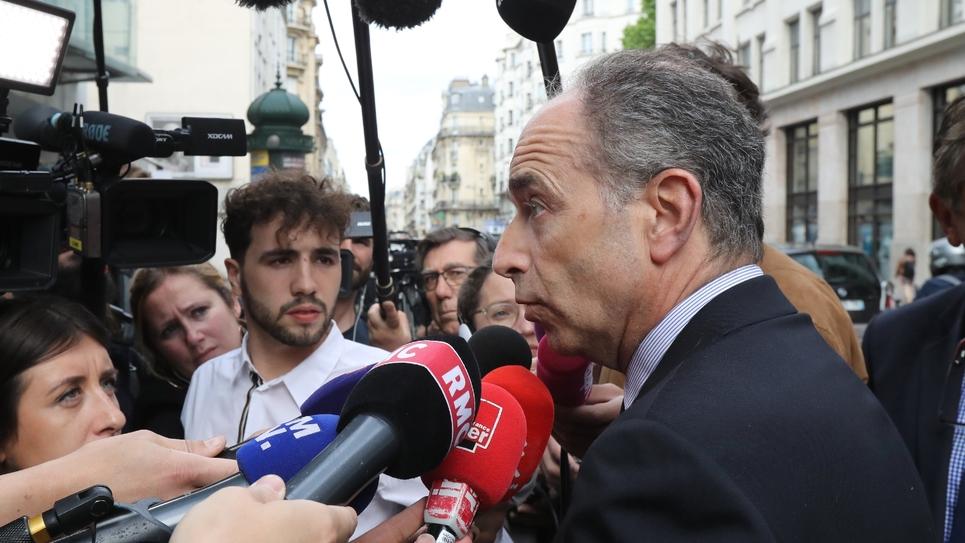 Jean-François Copé le 27 mai 2019 avant une réunion à LR après le revers du parti aux européennes