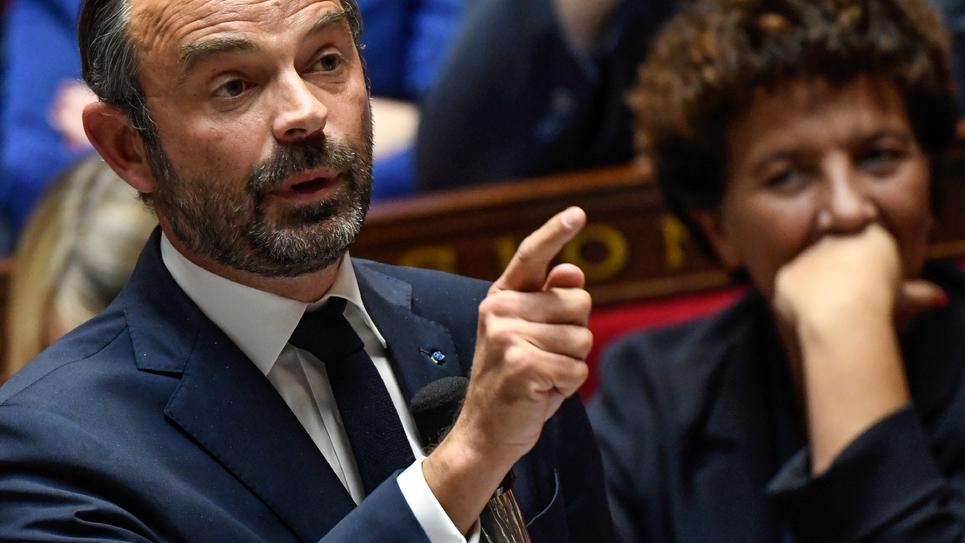 Edouard Philippe à l'assemblée nationale, le 9 octobre 2018
