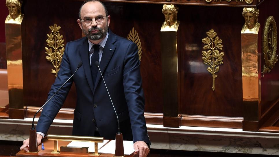 Le Premier Ministre français Edouard Philippe à l'Assemblée Nationale le 12 juin 2019