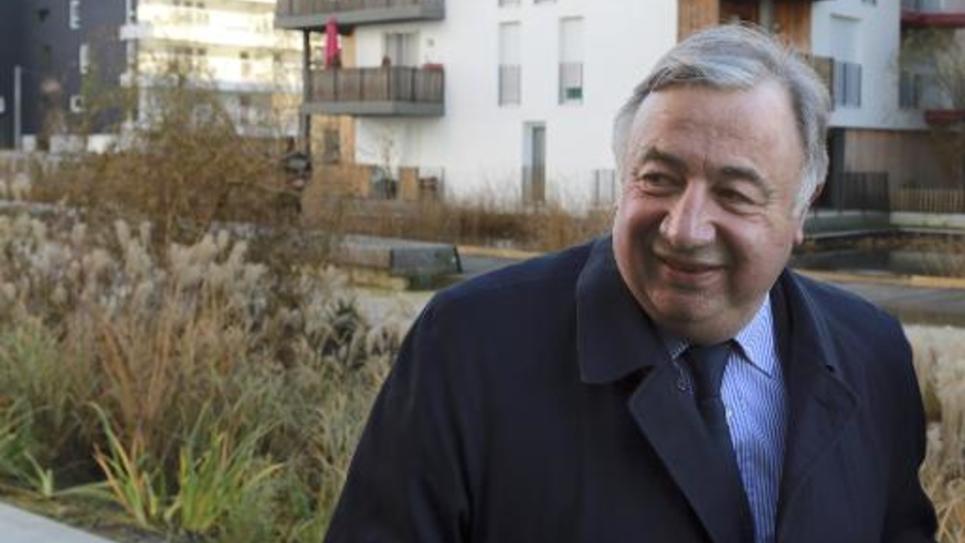 Le président du sénat Gerard Larcher le 12 janvier 2015 à Bordeaux