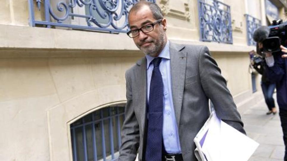 L'avocat Philippe Blanchetier à Paris, le 5 juillet 2013