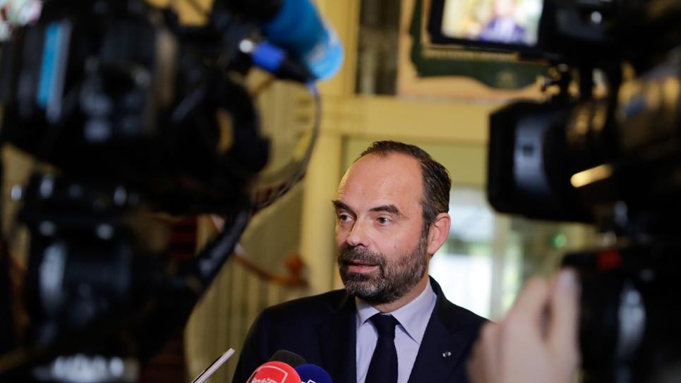 Le Premier ministre Edouard Philippe, le 21 décembre 2018 à Saint-Yrieix-la-Perche