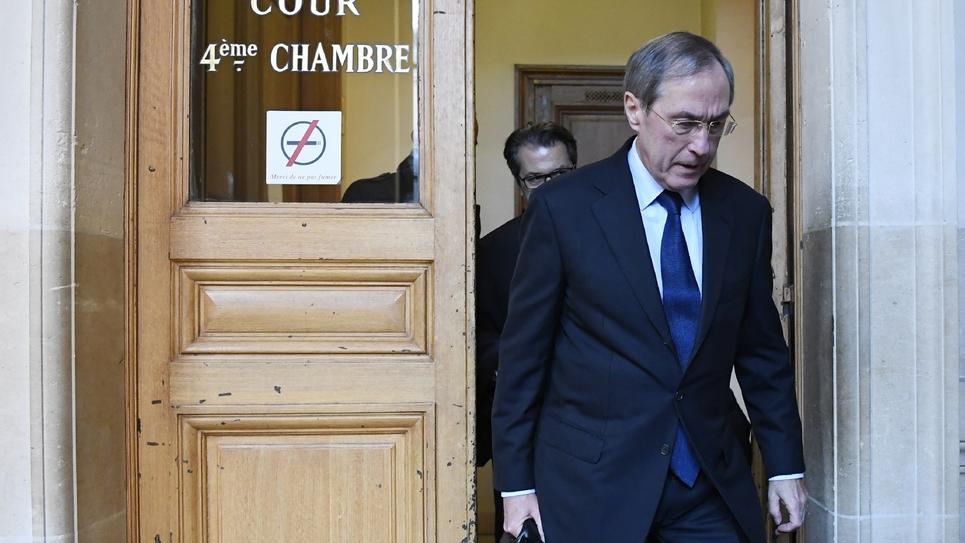 L'ex-bras droit de Nicolas Sarkozy, Claude Guéant, le 28 novembre 2016 à Paris