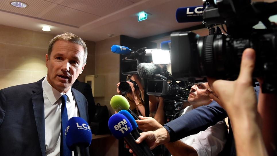 Nicolas Dupont-Aignan en juillet 2018