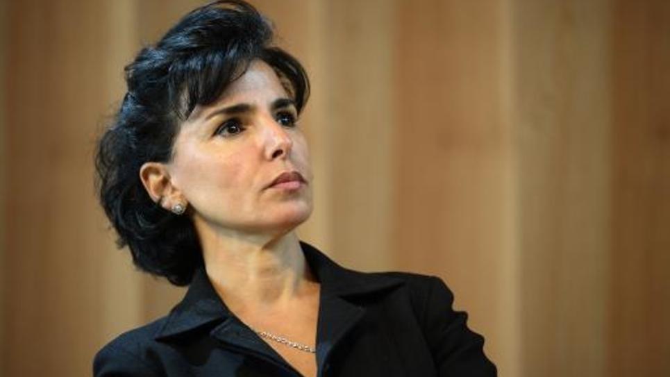 L'ex-ministre UMP Rachida Dati à Paris le 6 octobre 2014