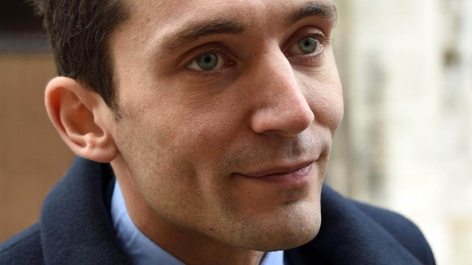 Julien Sanchez, maire de Beaucaire et porte-parole du FN, à Nîmes, dans le Gard, le 7 janvier 2016