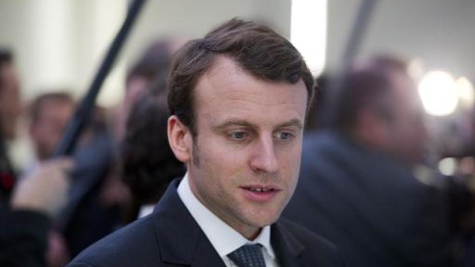 Emmanuel Macron, nommé ministre de l'Economie le 26 août 2014, à San Francisco, le 12 février 2014