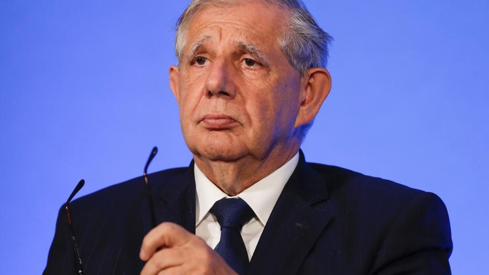Le ministre de la Cohésion des territoires, Jacques Mézard, le 12 juillet 2017 à Paris