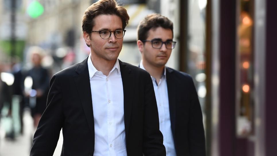 Geoffroy Didier le 11 juillet 2017 à Paris
