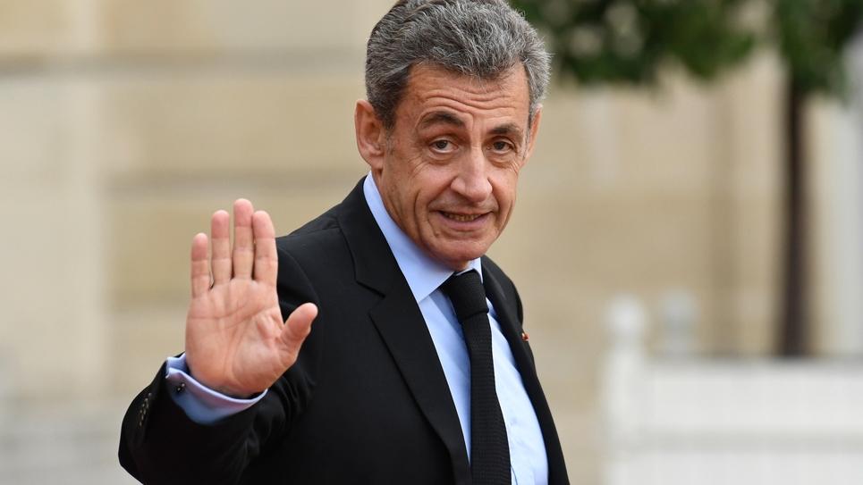 L'ex-président Nicolas Sarkozy, le 30 septembre 2019, à Paris
