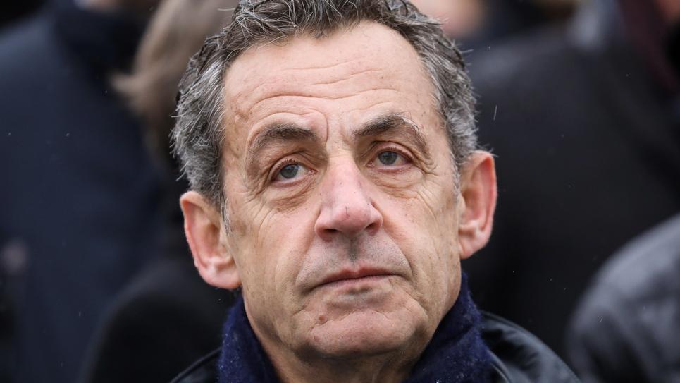 Nicolas Sarkozy, le 11 novembre 2019 à Paris
