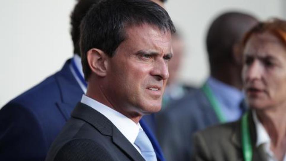 Manuel Valls le 23 août 2014 à Caen
