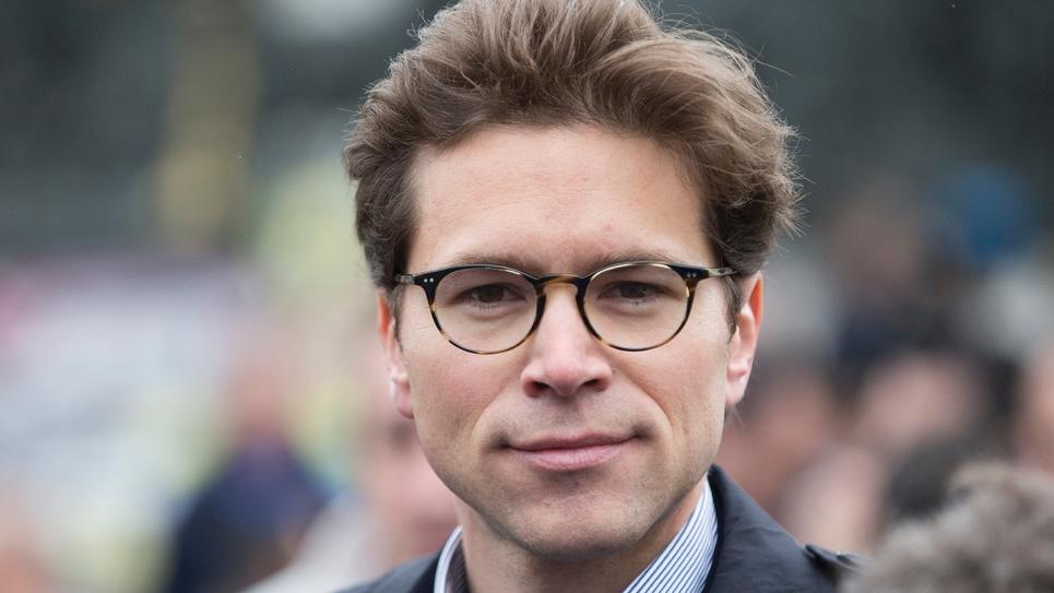 Le secrétaire général délégué desRépublicains, Geoffroy Didier, le 18 mai 2016 à Paris