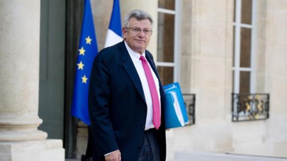 Le secrétaire d'Etat au Budget, Christian Eckert, le 1er octobre 2014 à l'Elysée, à Paris