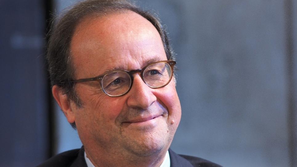 L'ancien président de la République François Hollande. Photo prise le 14 octobre 2018, à Blois.