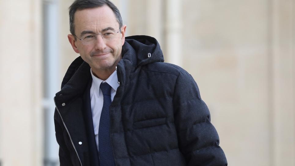Le chef de file des sénateurs LR Bruno Retailleau à Paris, le 5 février 2019
