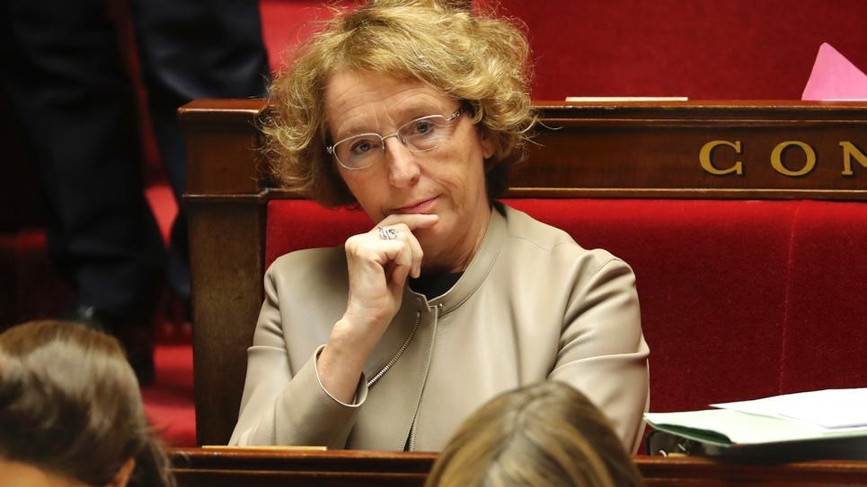 La ministre du Travail Muriel Pénicaud à l'Assemblée nationale le 28 novembre 2017