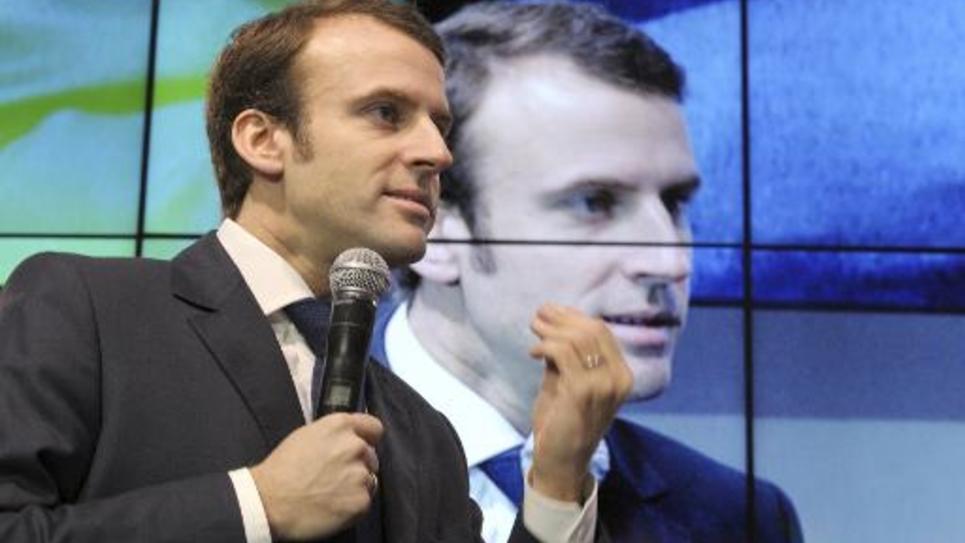 Le ministre de l'Economie Emmmanuel Macron le 4 décembre 2014 à Paris