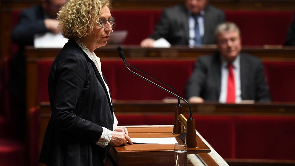 La ministre du Travail Muriel Pénicaud s'exprime devant l'Assemblée nationale, le 20 décembre 2018