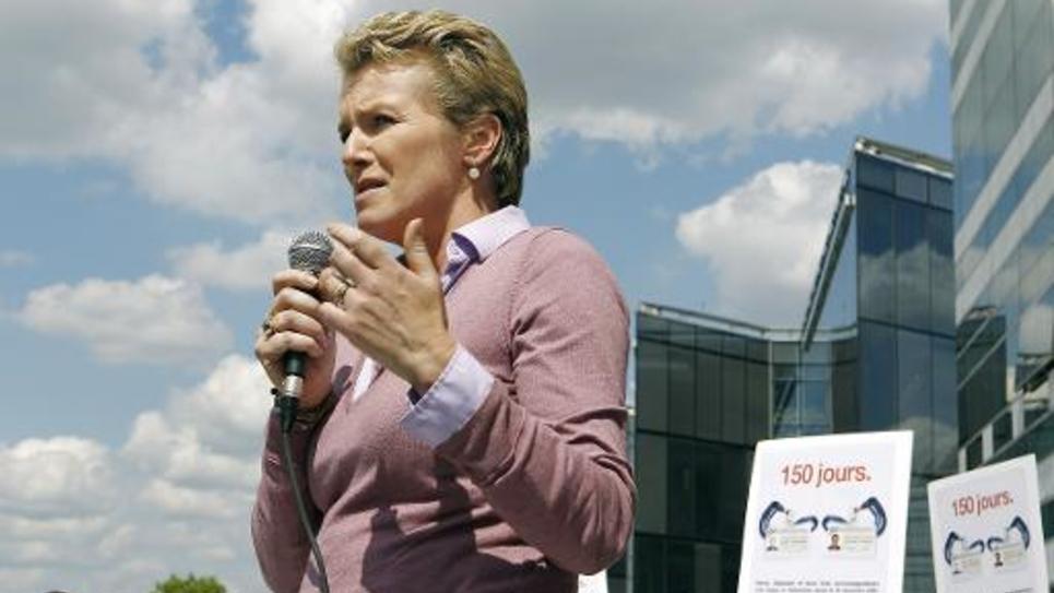 La journaliste française Elise Lucet, le 28 mai 2010 à Paris