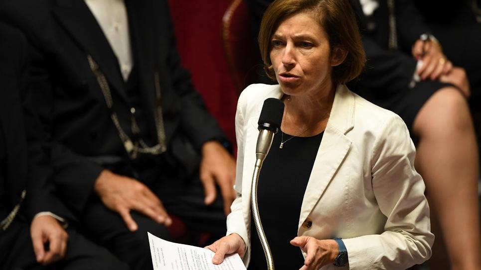 Florence Parly à l'Assemblée nationale, le 12 septembre 2018