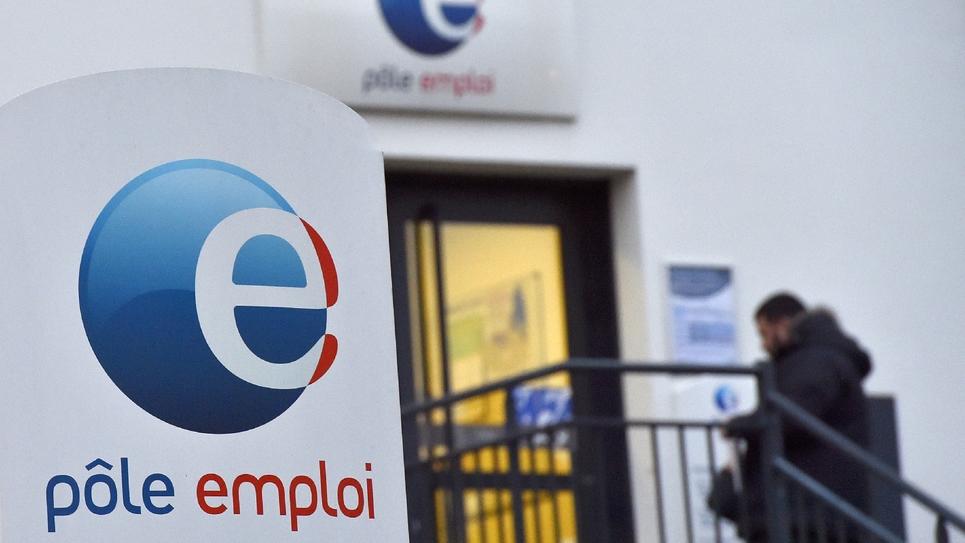 Une agence de Pôle emploi, le 15 janvier 2018 à Nantes