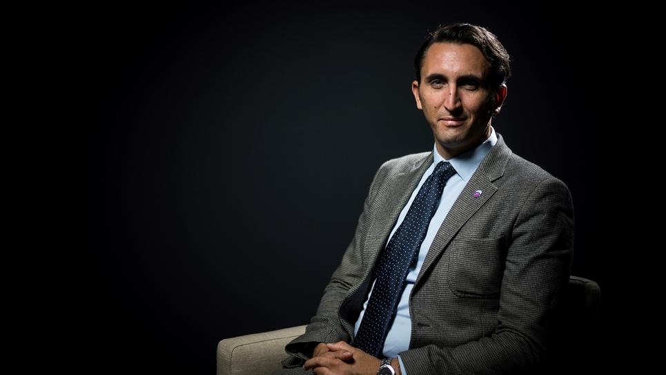 Julien Aubert, photo du 26 septembre 2017