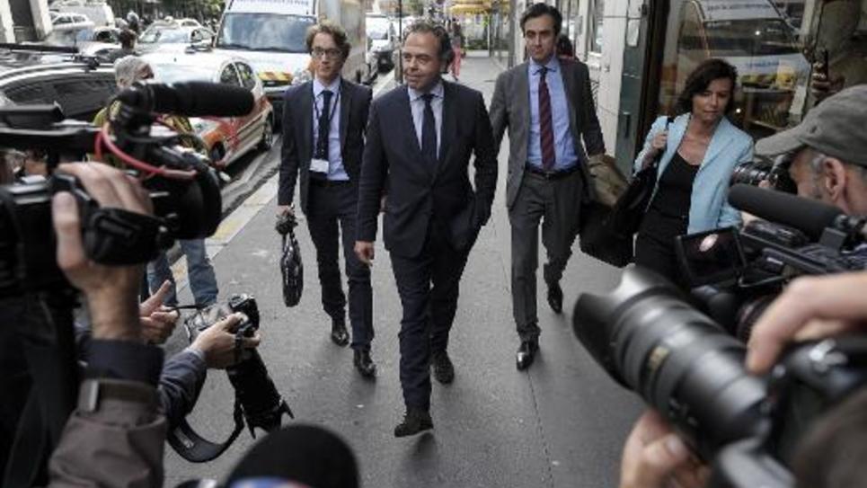Luc Chatel le 10 juin 2014 à Paris
