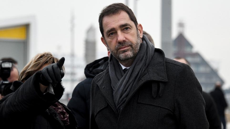 Christophe Castaner le 25 janvier 2019 à Calais