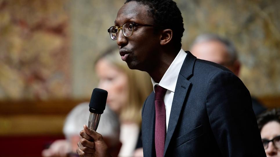 Le député Hervé Berville (LREM), le 15 novembre 2017 à l'Assemblée nationale, à Paris