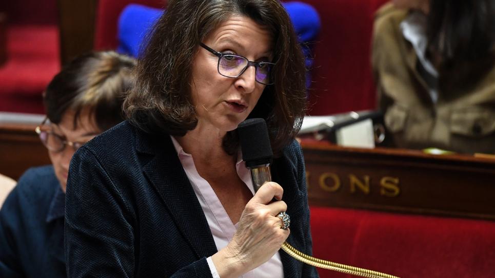 La ministre de la Santé Agnès Buzyn, le 20 mars 2019 à l'Assemblée nationale, à Paris