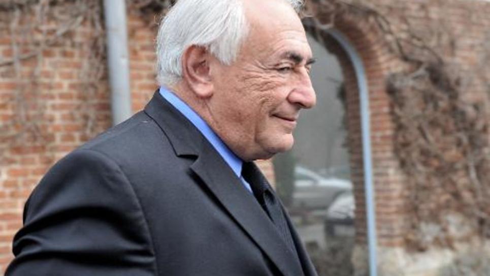 Dominique Strauss-Kahn le 16 février 2015 à Lille