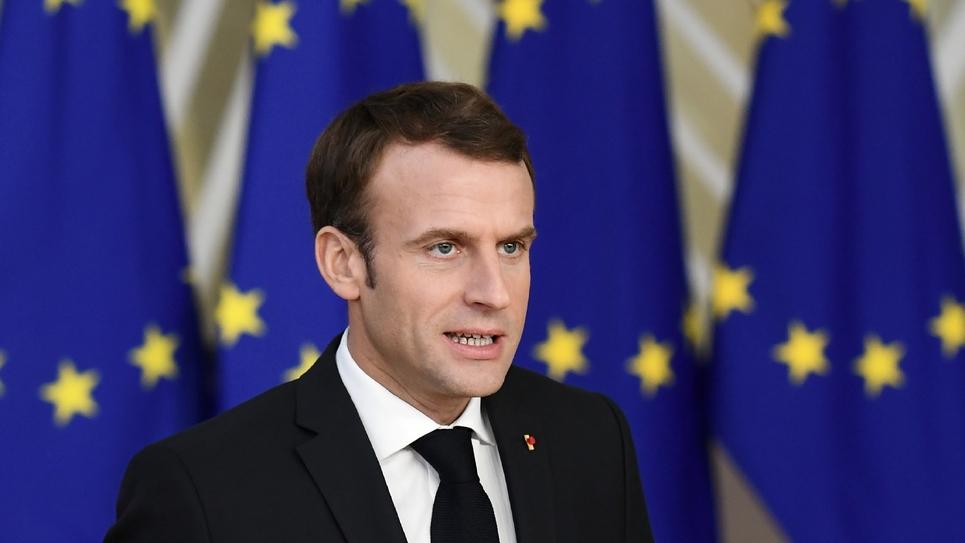 Emmanuel Macron, à Bruxelles le 25 novembre 2018