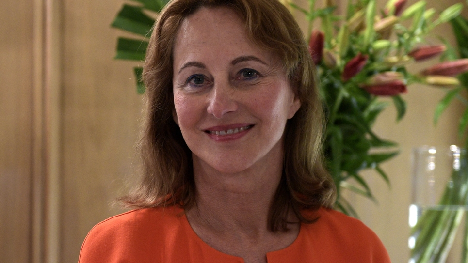 Ségolène Royal lors d'une interview à Buenos le 15 mai 2018