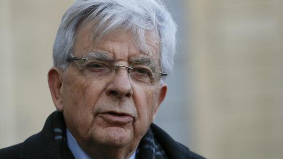 Jean-Pierre Chevènement le 9 janvier 2015 à l'Elysée, à Paris