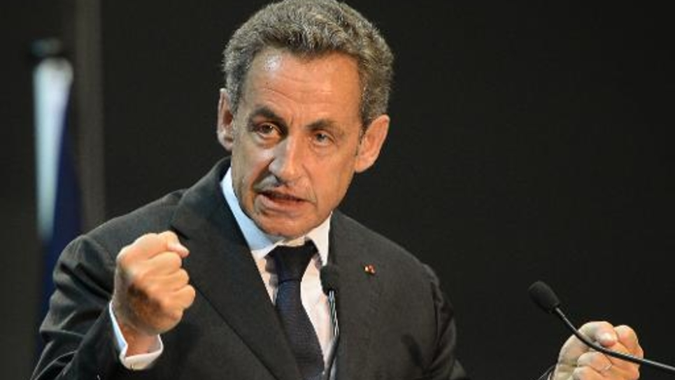 Nicolas Sarkozy le 28 octobre 2014 à Marseille