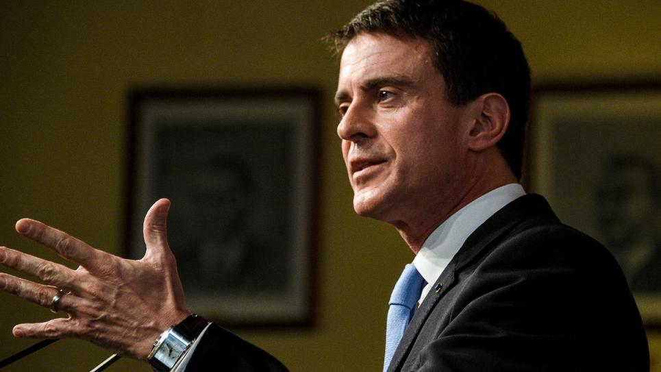 Manuel Valls le 8 janvier 2017 à Lievin