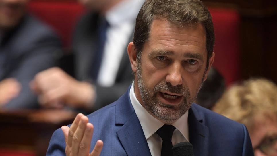 Le ministre de l'Intérieur, Christophe Castaner, lors des questions au gouvernement à l'Assemblée nationale, le 18 juin 2019