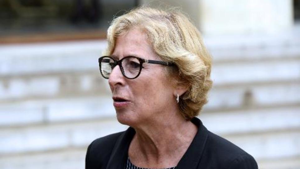 La secrétaire d'Etat chargée de l'Enseignement supérieur et de la Recherche Geneviève Fioraso le 27 août 2014 à Paris