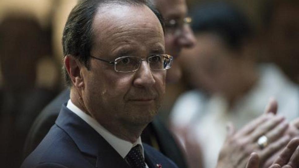 François Hollande le 12 juin 2014 à Andorre