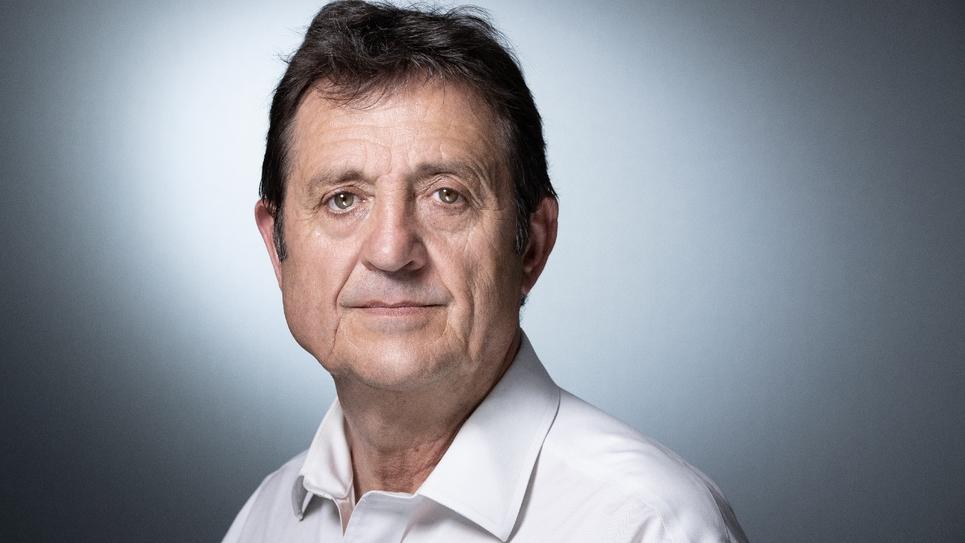 Le maire de La Courneuve, Gilles Poux, le 18 juin 2019